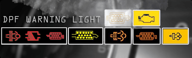 dpf solutions - warning lights
